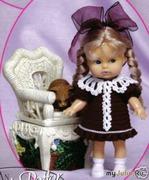 Успех красоты или волосы для куклы, часть 2