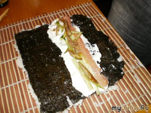 Суши и ролы дома - это просто! (фото-рецепт): Рецепты и кулинария - женская социальная сеть myJulia.ru