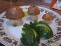 Грибочки из молодой картошечки на праздничный стол для ДЖУЛИИ:)