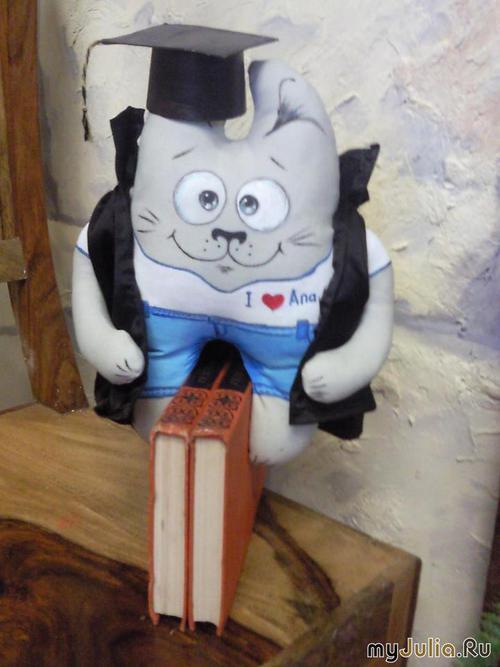 Кот ученый костюм своими руками 2