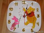 Часы из тарелки