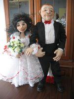 скульптурно-текстильная кукла(чулочная техника)
