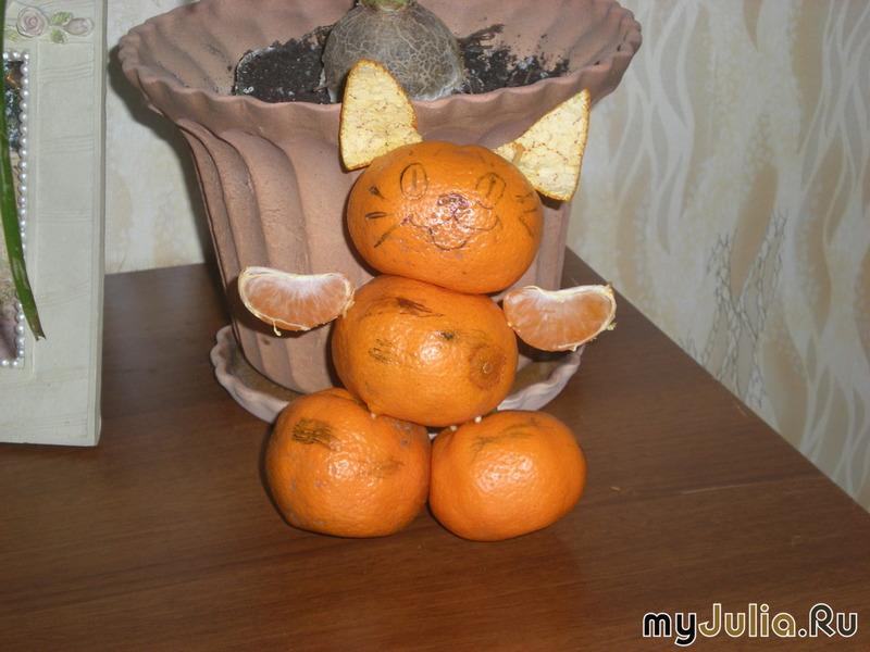 Поделка из апельсина в детский сад 85
