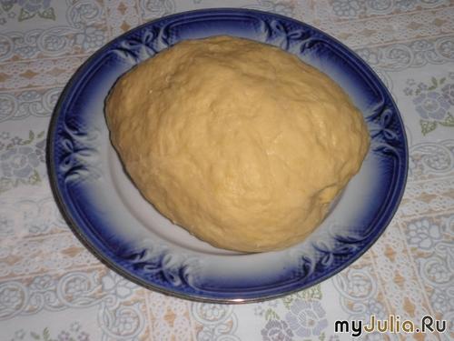 Как заводить тесто на хворост рецепт