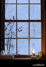 Холодное зимнее окно
