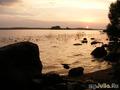Купание на закате.Август 2010.Озеро Врево