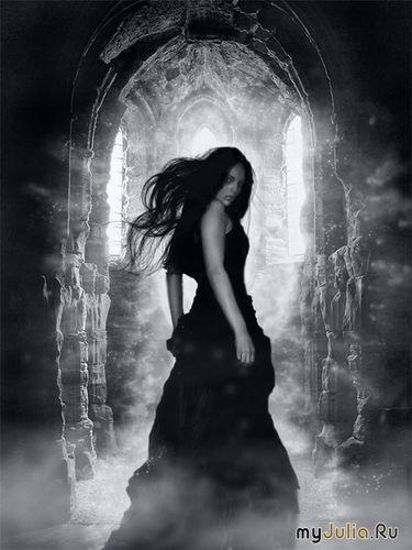 девушки мистические картинки