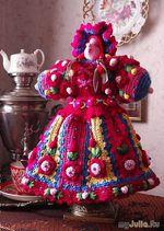 ВЯЗАНАЯ кукла-грелка и прочие изделия