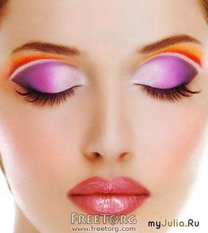 Видио макияж глаз видио с нависшими веками