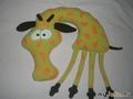 Дорожная подушка. Жираф.