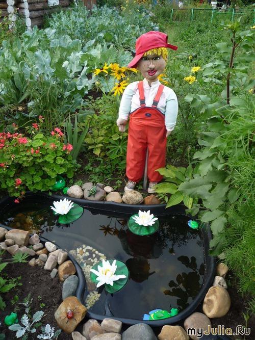 сад огород поделки своими руками видео