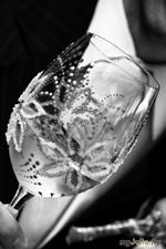 Мастер-класс по созданию свадебных бокалов