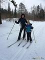 Зима,лыжи...