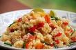Марокканский кускус с курицей и овощами