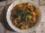 Кальмары Катаплана.Португальская кухня