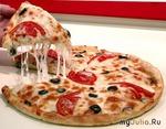 Экономное тесто для пиццы