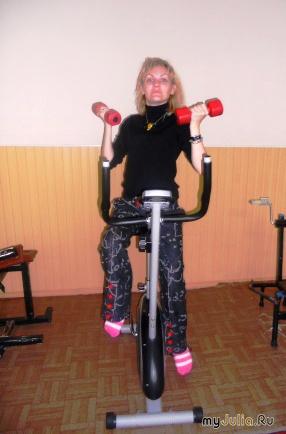Спорт дело тонкое)