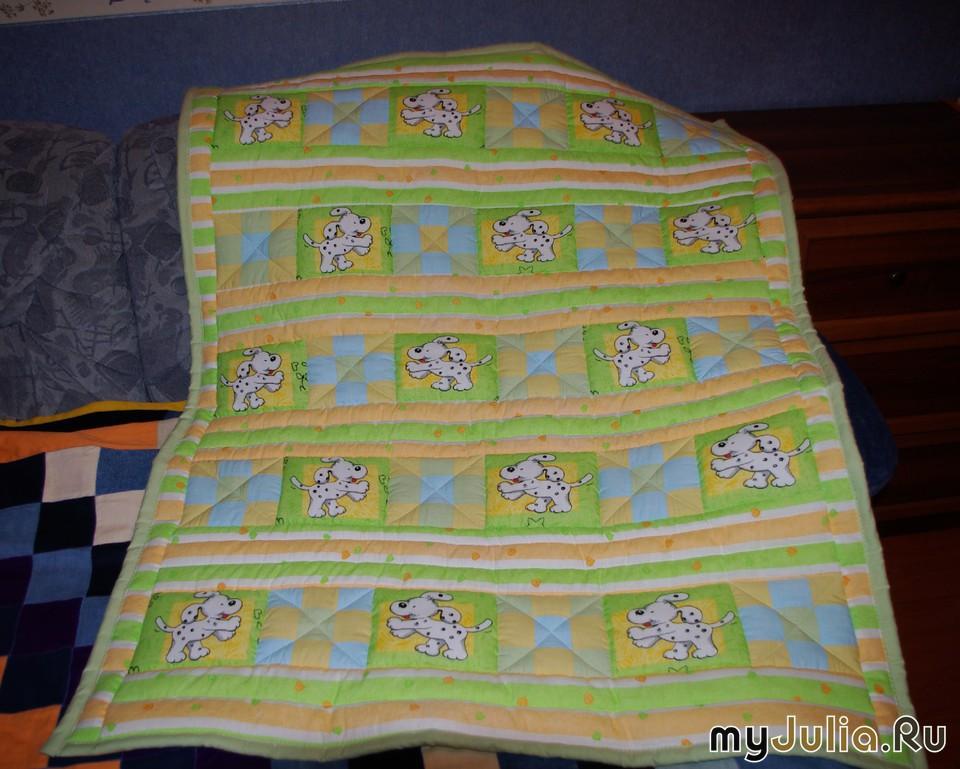 Сшить одеяло в коляску своими руками 35