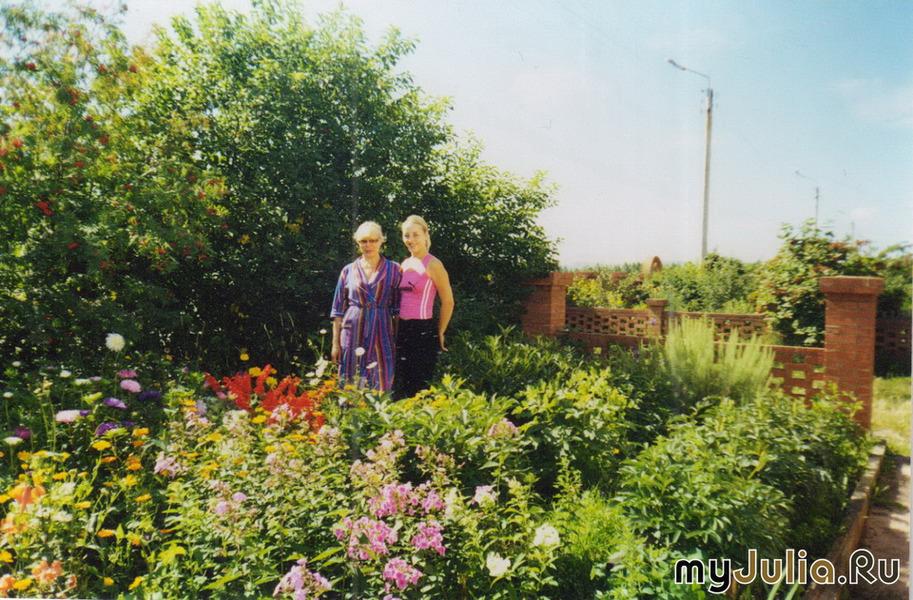 Цветы как часть жизни сад огород и