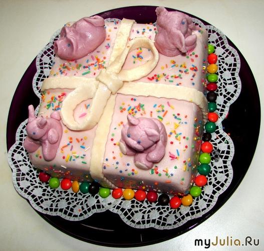 Пошаговыеы тортов с сахарной мастикой