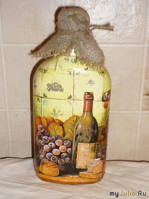 Картинки для декупажа бутылок вина 66