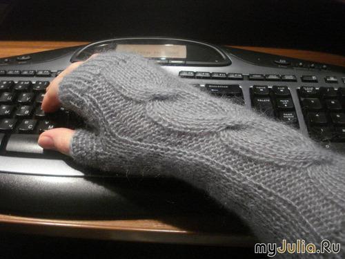 Забавные перчатки без пальцев