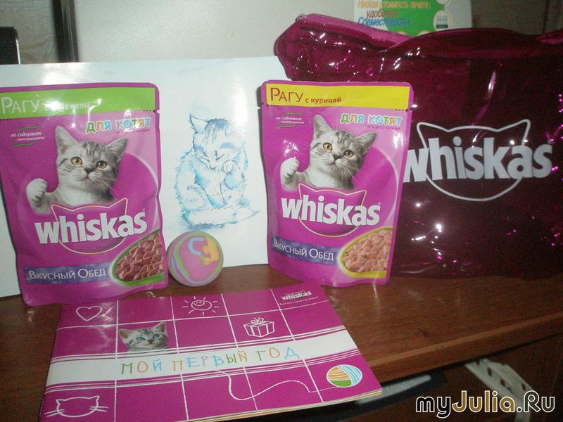 Подарок котёнку от вискас 84
