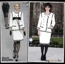 Жакет в стиле Шанель Вязание спицами.