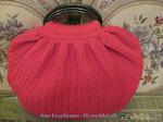 Комментарий: АНОНС по он-лайн вязанию красной сумки.