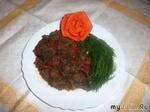 Мясо с овощами