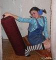 Беззаботная девченка...с другого ракурса)