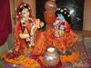 Маленький Кришна-Дамодар и мама Яшода