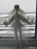 Ангел из зимней сказки...