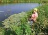...солнце высоко, рыба глубоко,жара донимает, а мне хорошо!!!