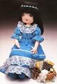 Я первая, дальше мои рукодельные подружки (из инета кукла)