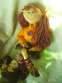 кукла от самоделки