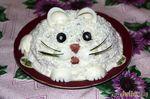 """Салат """"Белый кот"""" от Кенги и Кроши Ру"""