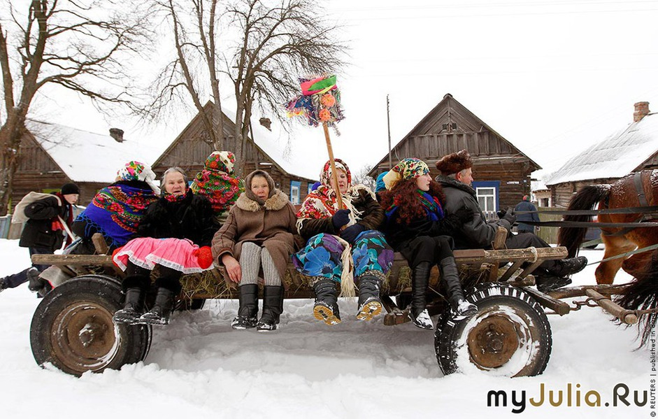 Нового года в деревне сценарий