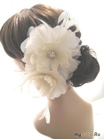 Свадебные аксессуары: стильные свадебные шпильки ручной работы