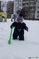 Первая прогулка по снегу! (вне конкурса)