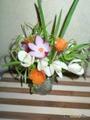 Весенний букет из зимних овощей