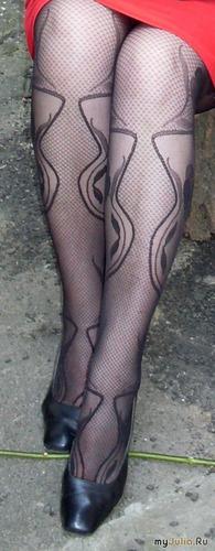 Ноги, как раз, не изменились...