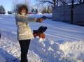 Во какая зимняя забава у меня )))