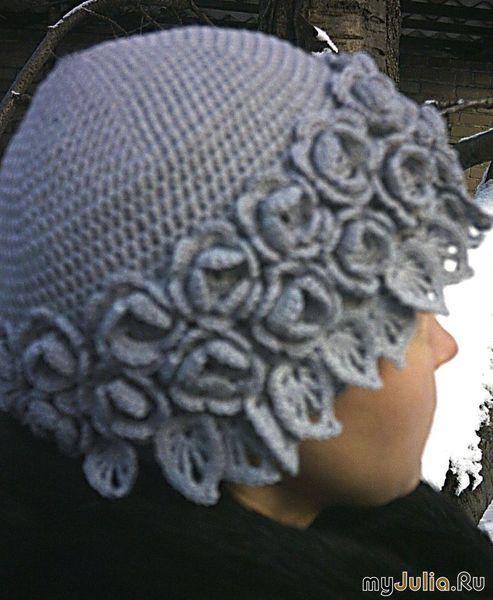шапки ушанки крючком и схемы - вязание.  Автор:Admin.