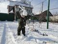 Ура!!! наконец и в Крыму снег)))