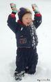 На Кубани снег - большая редкость и такая же большая радость!