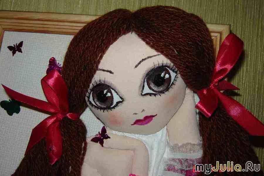 Как сделать глазки куклы 72