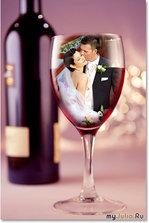 Свадебные бокалы (фото)