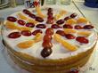 Самый быстрый фруктово-йогуртовый торт без выпекания