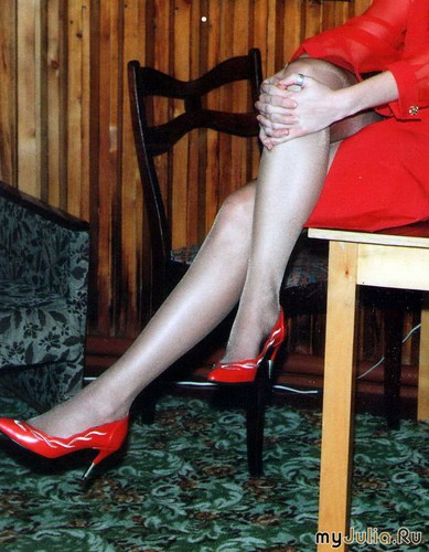 Ретро-фото. Lady in red